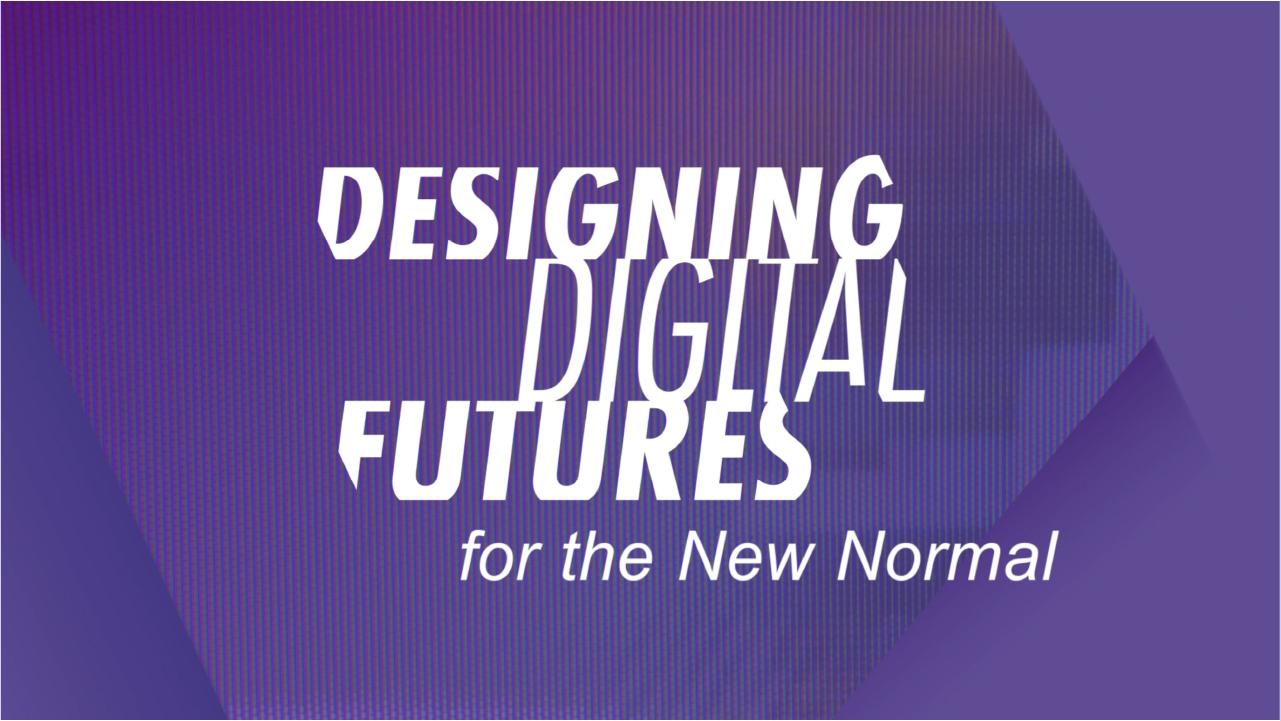 2020 – 智用設計.數造新常態